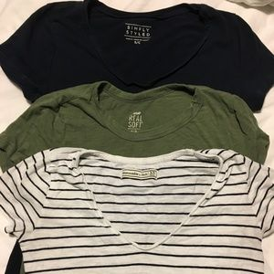 3pack Neutral T-Shirts